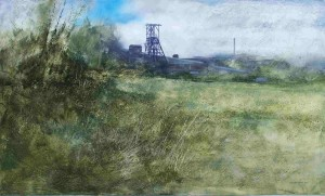 Dp-L03 Daw Mill Colliery, Coleshill. Size 36x60 inches. Media Oil. SOLD