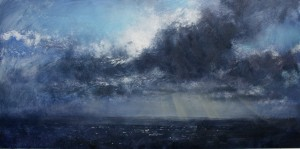 Dp-L06 One hour before Sunset. Size 60x120cm. Media Oil. Price £1495