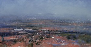 Dp-L09 The West Midlands Plateau. Size 90x180cm Media Oil. SOLD