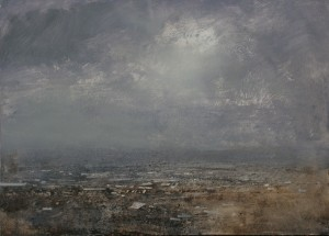 Dp-M02 Broken Cloud over the Black Country. Size A1 60x84cm. Media Oil. Price SOLD