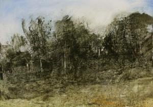 Fr-M02 'Rte du Tiercelet' Fontainebleau Forest. Size A1 60x84cm. Media Oil