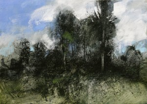 Fr-M05 Forestry Track, Fontainebleau Forest. Size A1 60x84cm.Price £1100