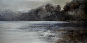 Ls-L01 Winter Tranquillity. Ladies Pool. Blakedown. Size 84x120cm. Media Oil. Price £2570