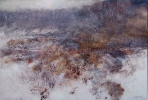 Ls-L02 Snow on Highgate Common. Size 120x180cm. Price £3590