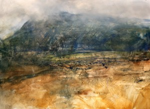 Wa-L01 Rain Clouds on Cader Idris. Size AO (84x119cm) Media-Oil. SOLD