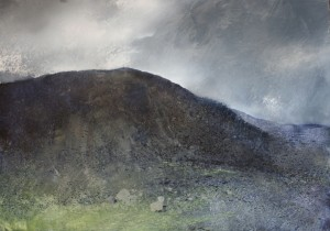 Wa-L06 Cloudscape. Dinas Mot, Llanberis Pass. Size A1 (60x84cm). Media Oil. Price £1100
