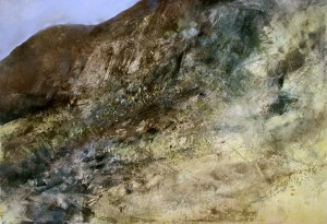 Wa-L09 Moel Dyrnogydd. Size 120x180cm (48x72 inches) Media Oil. Price £3590