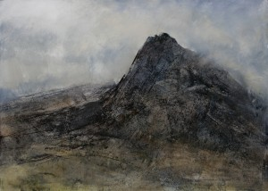Wa-L11 Tryfan. January 2011. Size A0 (84x120cm) Media Oil. Price £1950