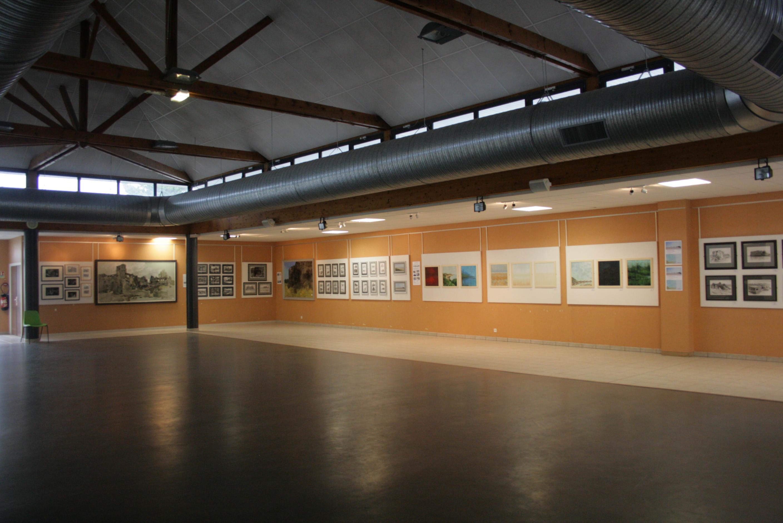 Exhibition. Gold Beach Museum, Ver-sur-Mer, Normandy. Oct 2013
