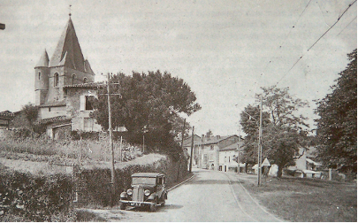 Orad97Ar-02. Archive.  Entry to the village. 1938. Photo