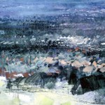 The English Midlands. 17 Sept 1998.38 x 52 inches. Oil