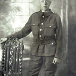 Pte Billy Warren (Robert Perry's great uncle), killed on the Somme, aged 19. Gloucestershire Regt.