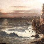 'Seascape' Painted (1913) by Billy Warren at the age of 16. Oil 22 x 27in
