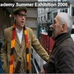 Robert Perry and the Royal Academy Courtesy of 'The Culture Show' BBC TV (2006)