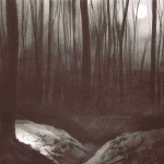 Somme Battlefields. Moonrise Lamp-lit trenches in Aveluy Wood. Size A3. Charcoal & ink