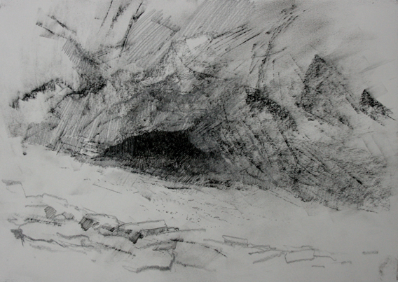 16 CHINA 1.30pm 23 October 2012. Prehistoric cave dwelling i