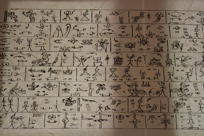 20 CHINA Naxi pictograms (1)