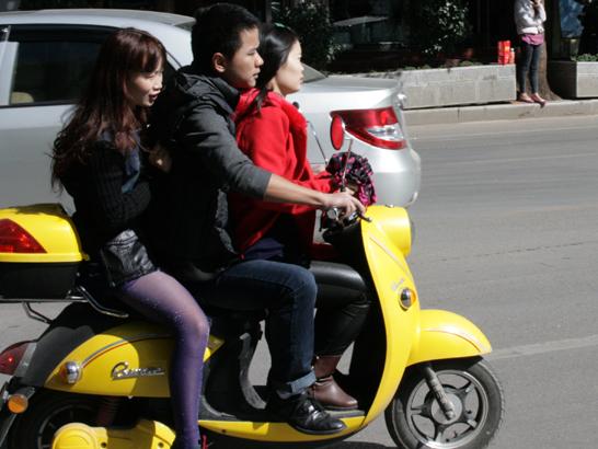 57 CHINA. 25 October 2012. People of Lijiang