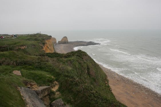 12.15pm, 5 June 3013. Point du Hoc, Normandy.