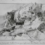7.45pm, 5 July 2013.  Shattered German gun emplacement.  Juno Beach.