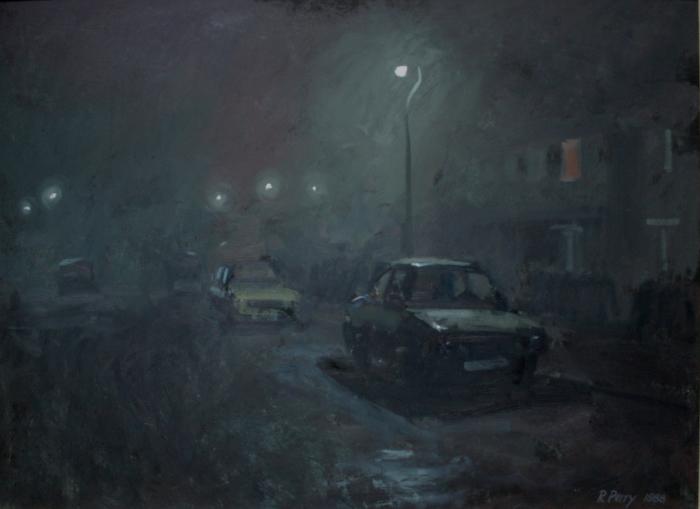 BC NwpA1-02  3.00am 16 November XXXX1988. Fog. Ryder Street Wordsley.